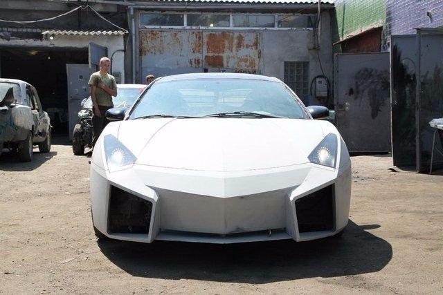 Evinde Lamborghini yaptı! 29