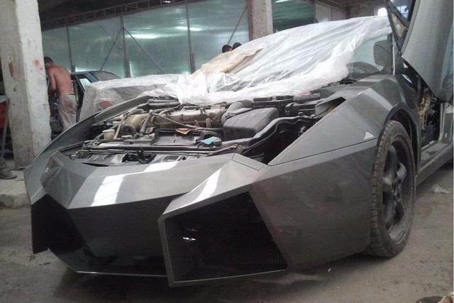 Evinde Lamborghini yaptı! 31