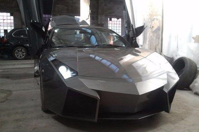 Evinde Lamborghini yaptı! 35