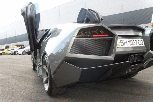 Evinde Lamborghini yaptı! 39
