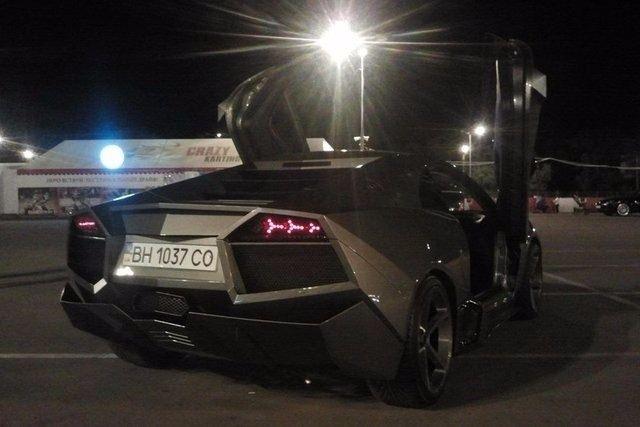Evinde Lamborghini yaptı! 40