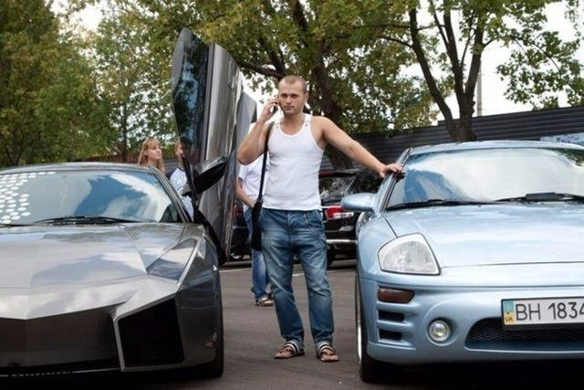 Evinde Lamborghini yaptı! 42
