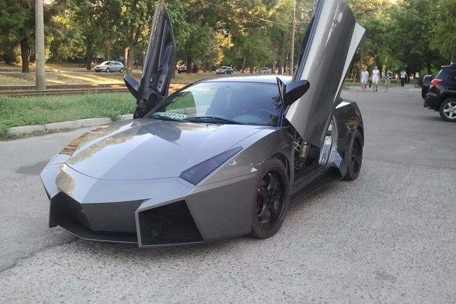Evinde Lamborghini yaptı! 43