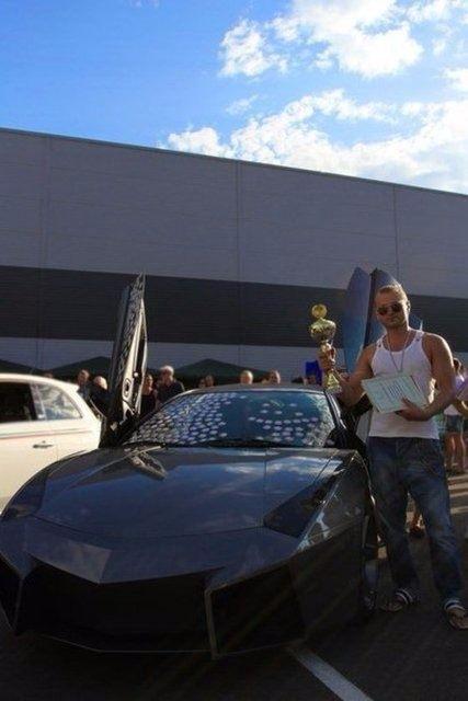 Evinde Lamborghini yaptı! 46