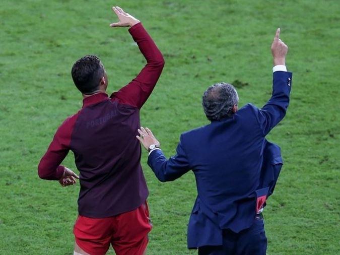 Dünya Ronaldo'nun bu hareketlerini konuşuyor! 6