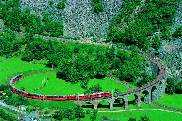 Bu tren yolu bir başka 2