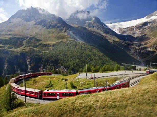 Bu tren yolu bir başka 4