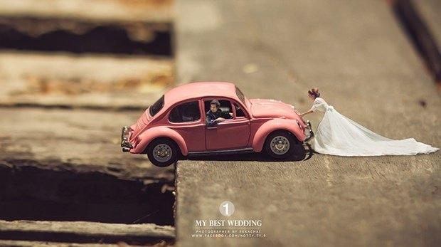 Bu düğün fotoğrafları ezber bozuyor! 1