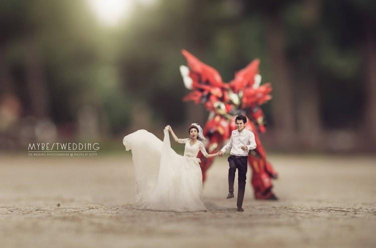 Bu düğün fotoğrafları ezber bozuyor! 14