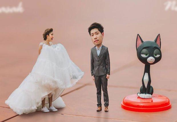 Bu düğün fotoğrafları ezber bozuyor! 15