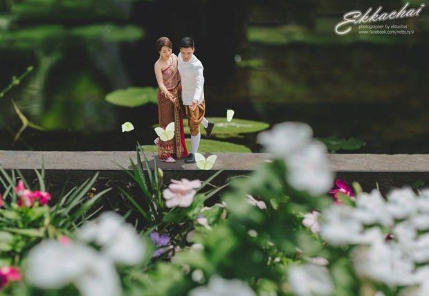 Bu düğün fotoğrafları ezber bozuyor! 16