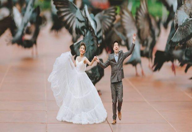 Bu düğün fotoğrafları ezber bozuyor! 2