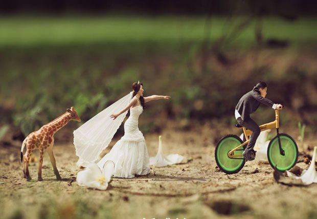 Bu düğün fotoğrafları ezber bozuyor! 23