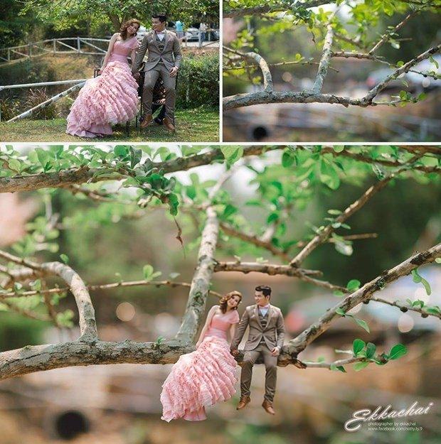 Bu düğün fotoğrafları ezber bozuyor! 5