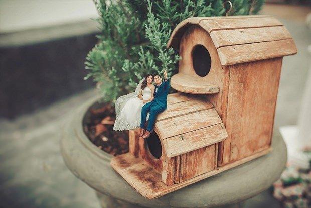 Bu düğün fotoğrafları ezber bozuyor! 8