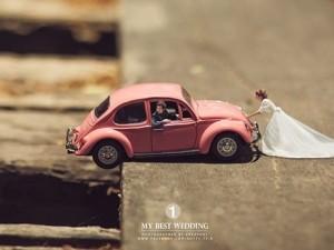 Bu düğün fotoğrafları ezber bozuyor!