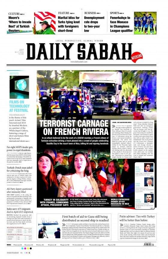 16 Temmuz 2016 gazete manşetleri 16