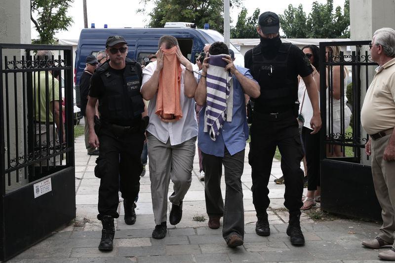 Yunanistan'a kaçan darbeciler Adliye'ye böyle geldiler 11