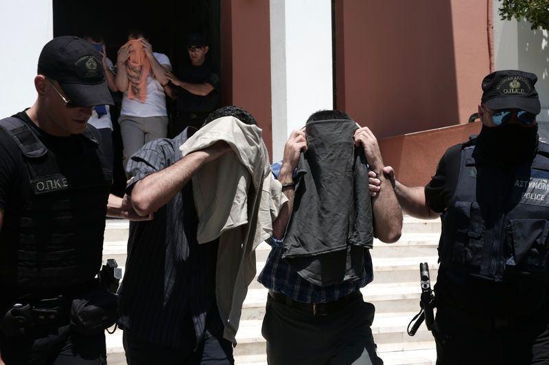 Yunanistan'a kaçan darbeciler Adliye'ye böyle geldiler 12