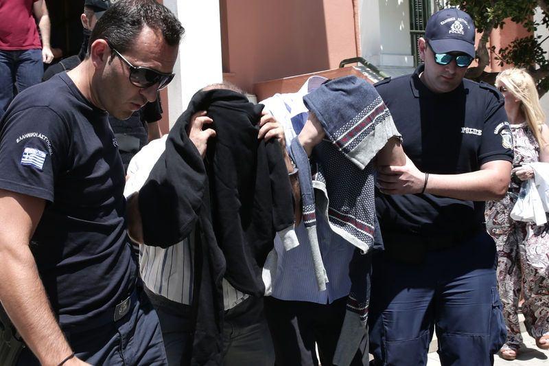 Yunanistan'a kaçan darbeciler Adliye'ye böyle geldiler 4