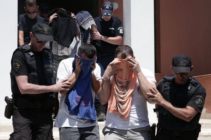 Yunanistan'a kaçan darbeciler Adliye'ye böyle geldiler 5
