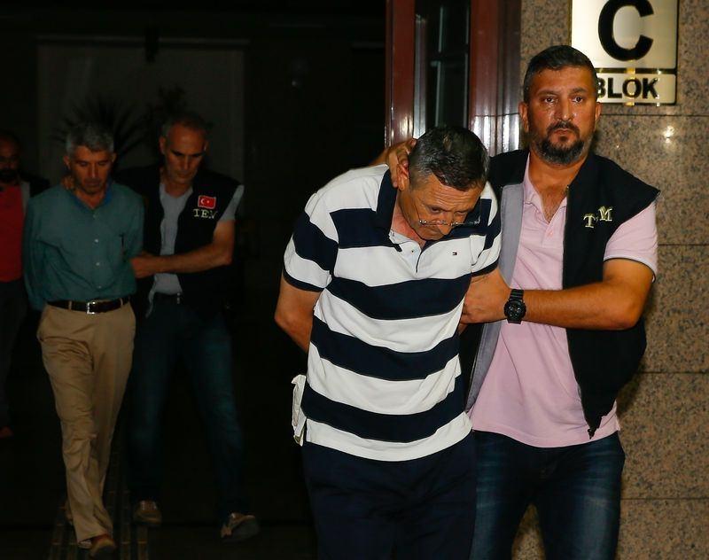 Yunanistan'a kaçan darbeciler Adliye'ye böyle geldiler 59
