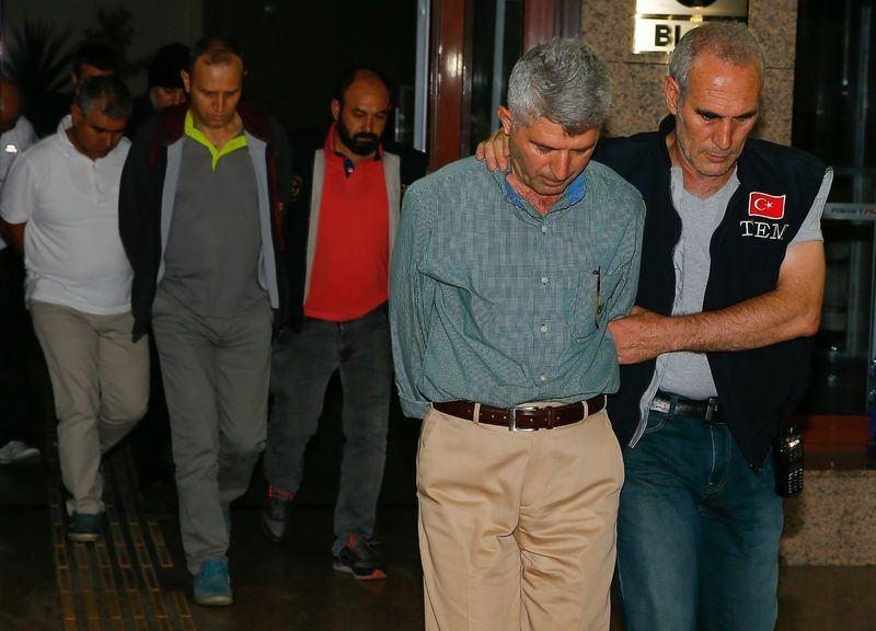 Yunanistan'a kaçan darbeciler Adliye'ye böyle geldiler 60