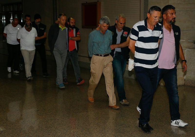 Yunanistan'a kaçan darbeciler Adliye'ye böyle geldiler 61