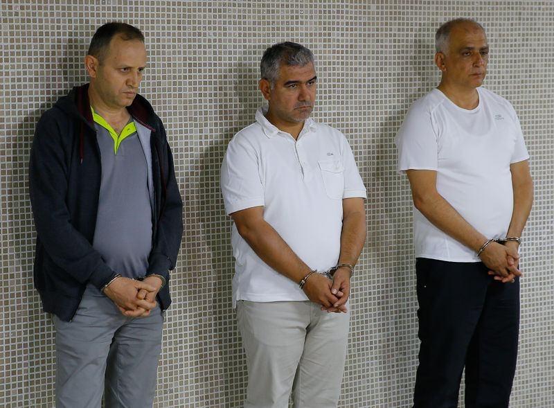 Yunanistan'a kaçan darbeciler Adliye'ye böyle geldiler 63