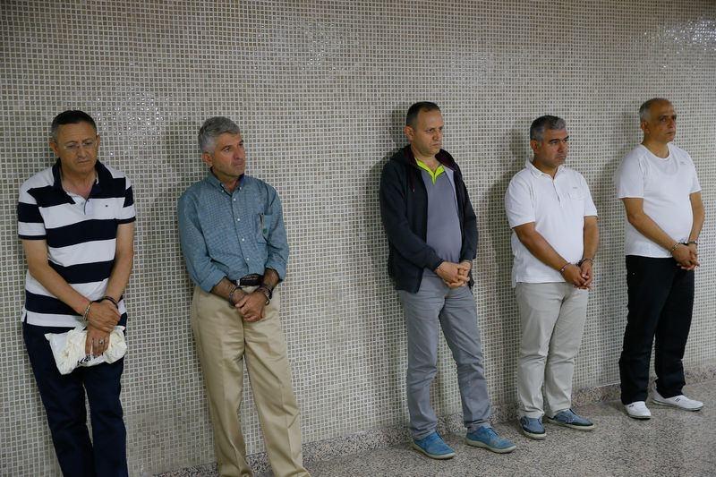 Yunanistan'a kaçan darbeciler Adliye'ye böyle geldiler 66