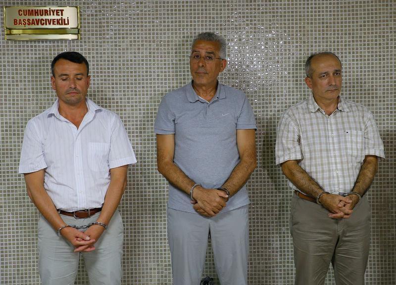 Yunanistan'a kaçan darbeciler Adliye'ye böyle geldiler 69