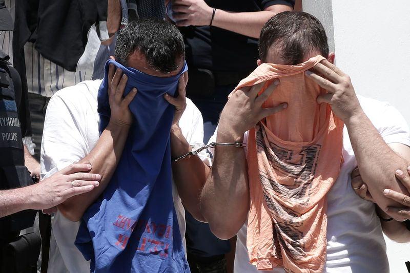 Yunanistan'a kaçan darbeciler Adliye'ye böyle geldiler 7