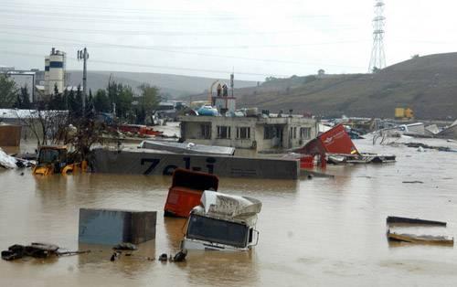 Kare kare Marmara'dan sel felaketi 4