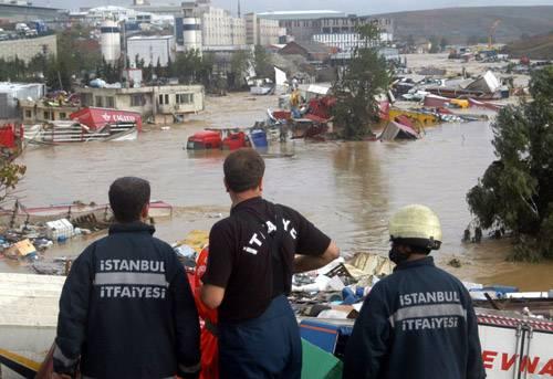 Kare kare Marmara'dan sel felaketi 5
