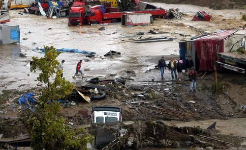 Kare kare Marmara'dan sel felaketi 6