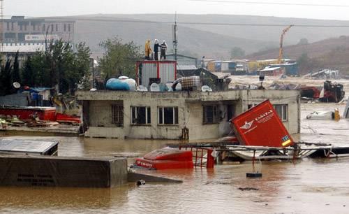 Kare kare Marmara'dan sel felaketi 9