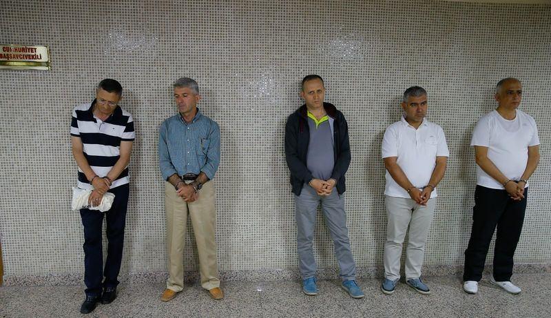 İşte tutuklanan generaller 107