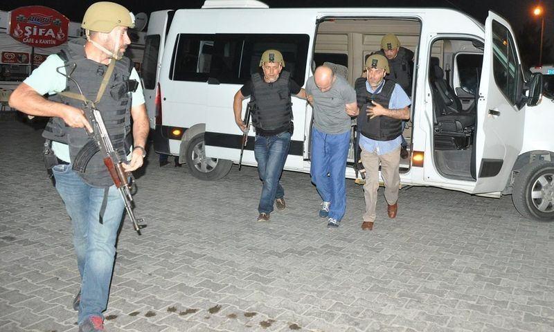 İşte tutuklanan generaller 112