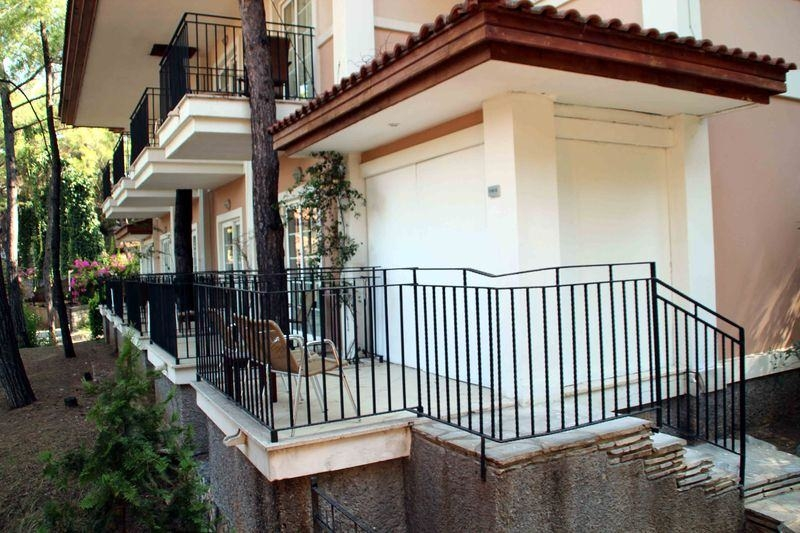 Erdoğan'ın konakladığı otele yapılan saldırının izleri 1