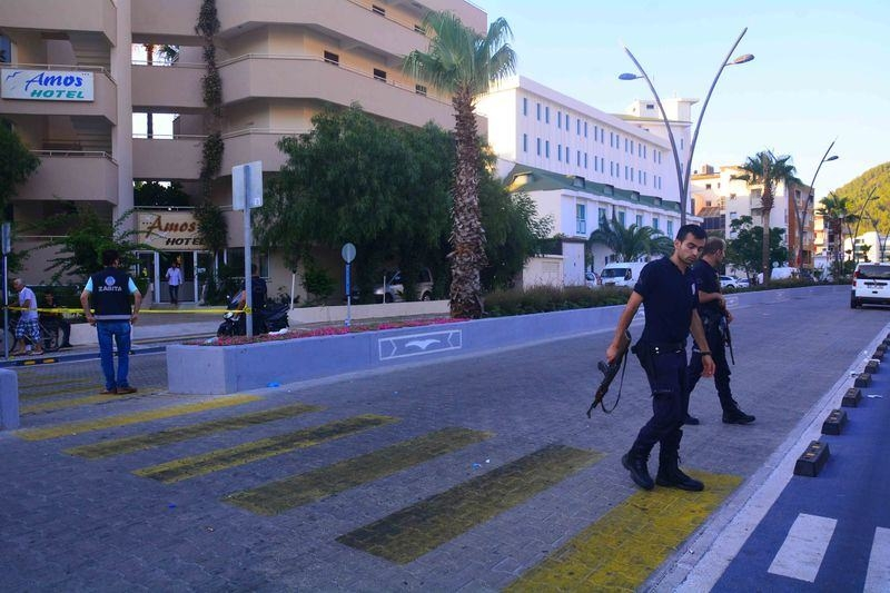 Erdoğan'ın konakladığı otele yapılan saldırının izleri 47