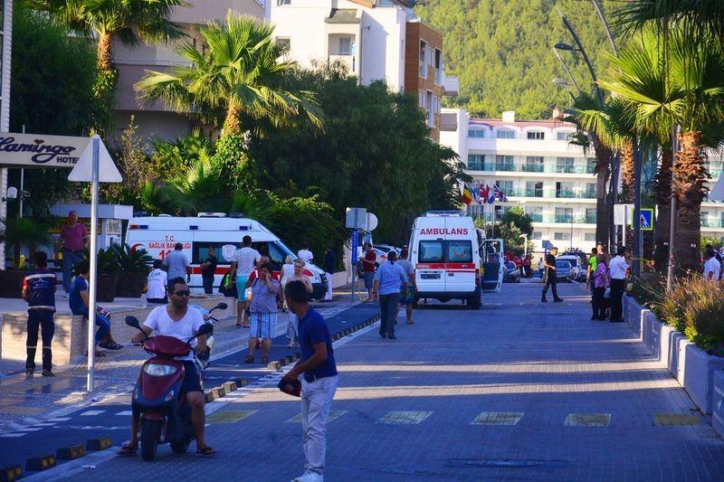 Erdoğan'ın konakladığı otele yapılan saldırının izleri 49