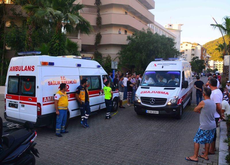 Erdoğan'ın konakladığı otele yapılan saldırının izleri 50