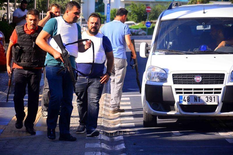 Erdoğan'ın konakladığı otele yapılan saldırının izleri 52
