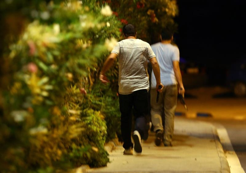 Erdoğan'ın konakladığı otele yapılan saldırının izleri 60