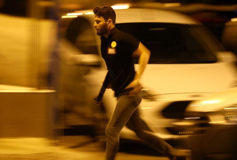 Erdoğan'ın konakladığı otele yapılan saldırının izleri 62