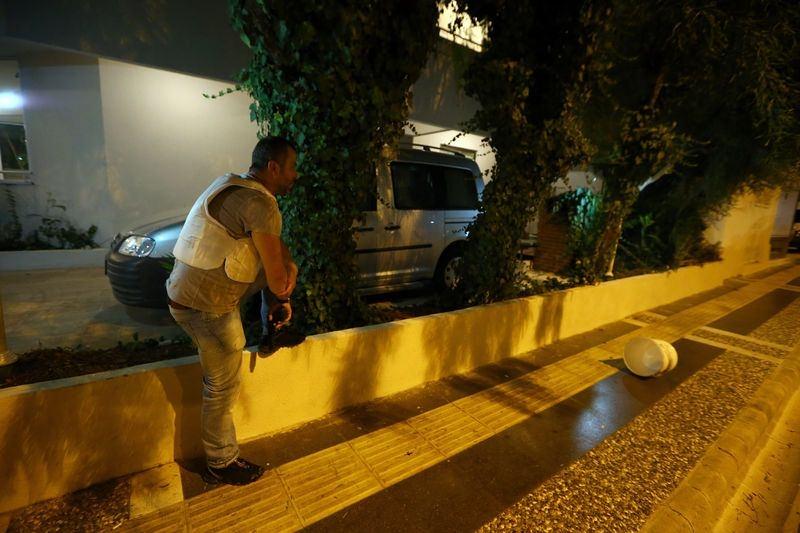 Erdoğan'ın konakladığı otele yapılan saldırının izleri 67