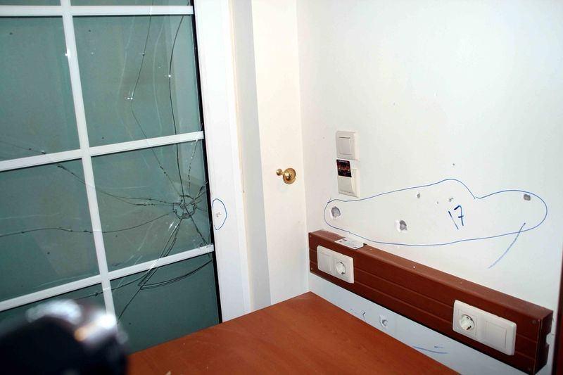 Erdoğan'ın konakladığı otele yapılan saldırının izleri 9