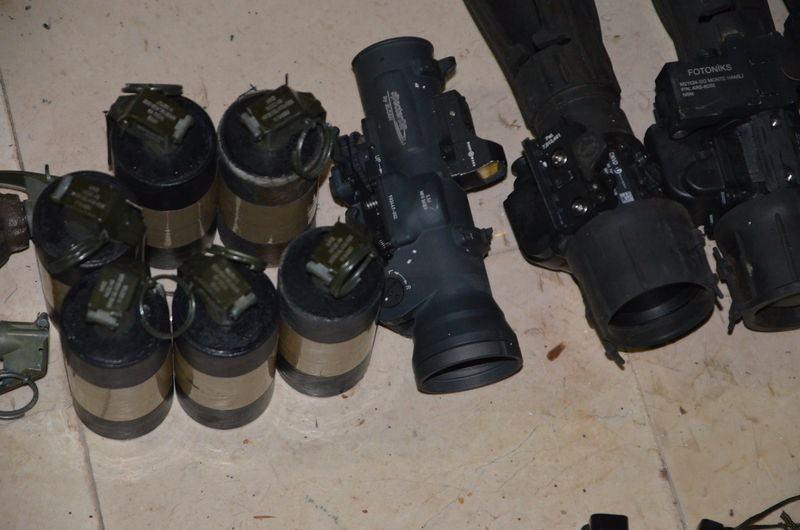 Otel baskınındaki silahlar bulundu! 10