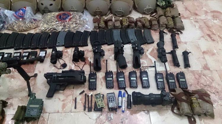 Otel baskınındaki silahlar bulundu! 16
