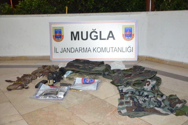 Otel baskınındaki silahlar bulundu! 23